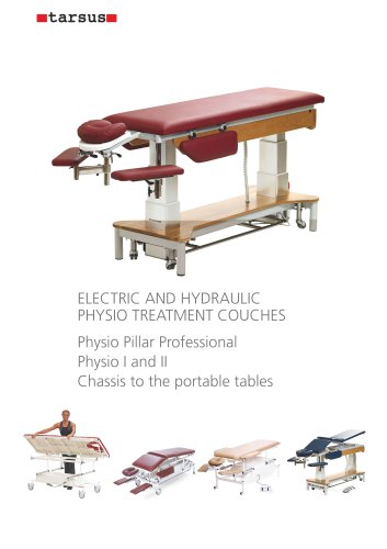 ELECTRIC AND HYDRAULIC PHYSIO TREATMENT COUCHES