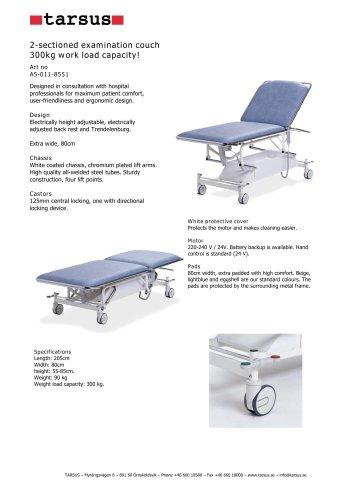 Examination table Lifts 300 kg
