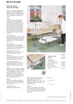 Heart ultrasound table