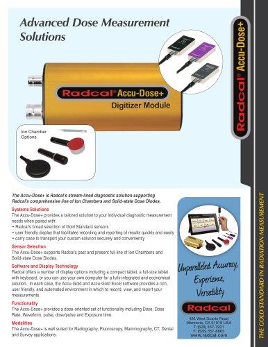 Advanced Dose Measurement Solutions