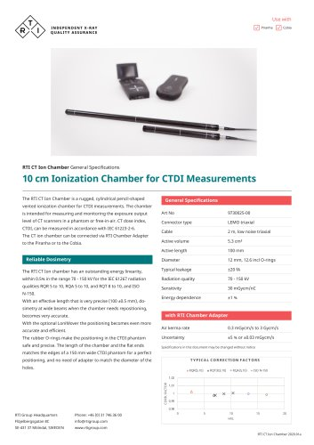 RTI CT Ion Chamber
