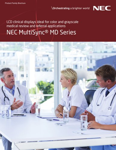 NEC MultiSync® MD Series