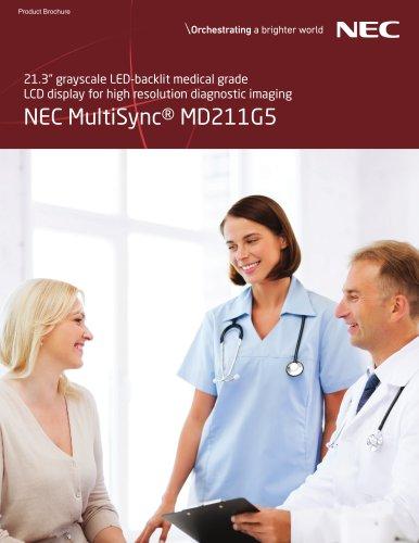 NEC MultiSync® MD211G5