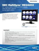 NEC MultiSync® MD242C2