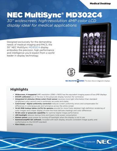 NEC MultiSync® MD302C4