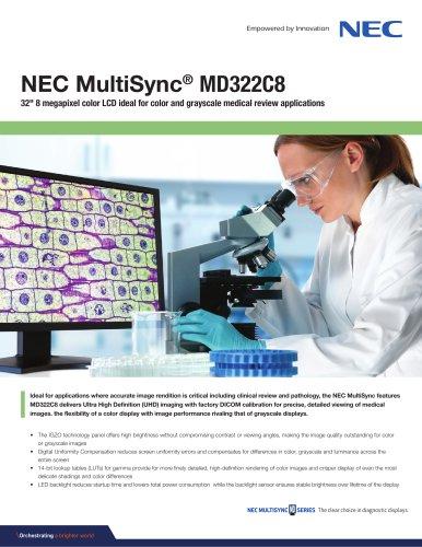 NEC MultiSync® MD322C8