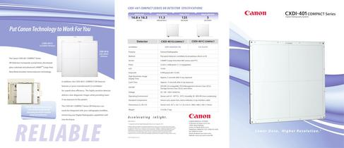 CXDI-401 COMPACT - 1