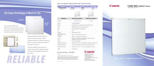 CXDI-401 COMPACT