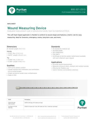 "6"" Wound Measurement Device - 1506-PFB DM"