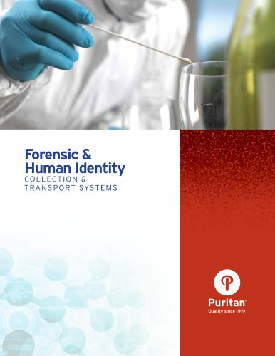 Forensic & Human Identity Collection & Transport Systems
