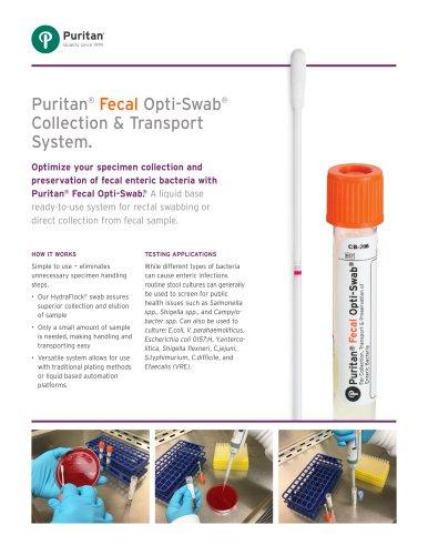 Puritan® Fecal Opti-Swab® Collection & Transport System