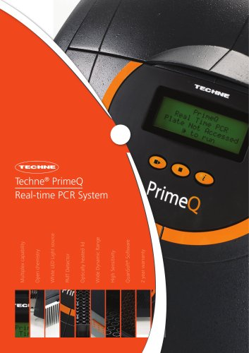 New primeQ Real-time PCR Brochure