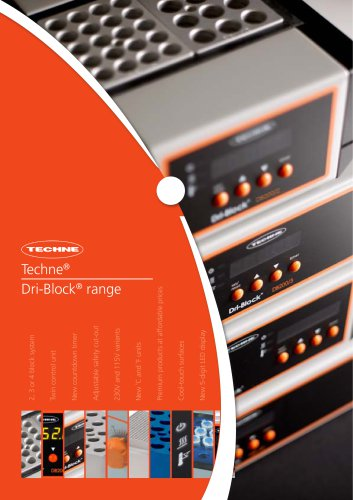 Techne ® Dri-Block ® range