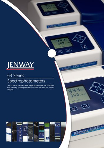 63 Series Spectrophotometers