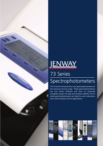 73 Series Spectrophotometers