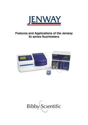 Features and Applications of the Jenway 6 2 series fluorimeters