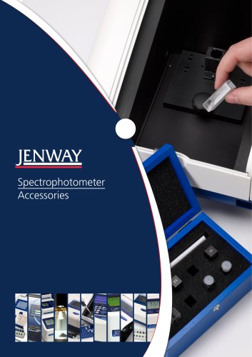 Spectrophotometer Accessory Brochure