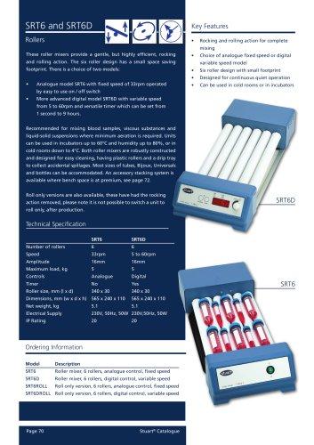 Analogue tube rollers - SRT6, SRT9