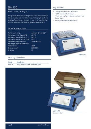 Block Heater, 2 Block, Analogue, SBH130