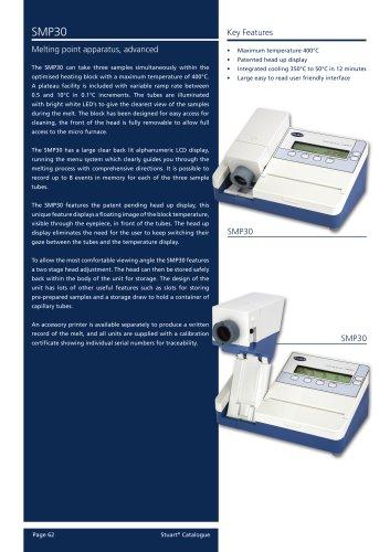 Melting Point, Digital, Advanced, SMP30