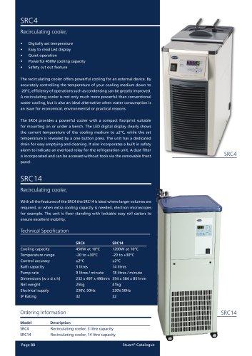 Recirculating Cooler's - SRC4, SRC14