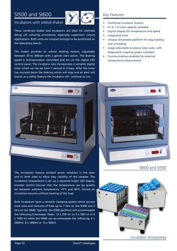Shaking incubator, SI500