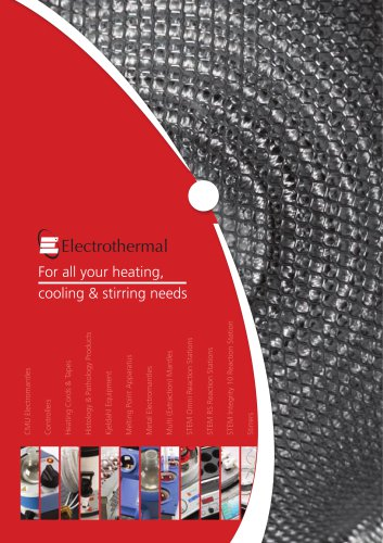 For all your heating, cooling & stirring needs