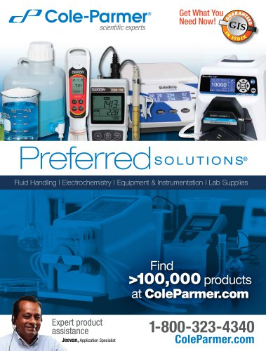 Cole-Parmer® Preferred Solutions®