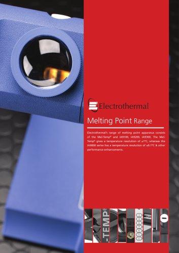 Melting Point Range