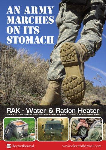 RAK Water & Ration Heater Brochure