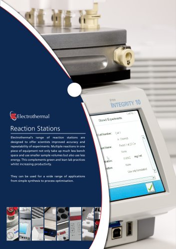 Reaction Stations Brochure