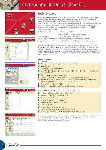 tecal portable dri-block® calibrators