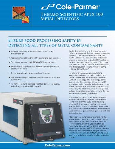 Thermo Scientific APEX 100 Metal Detectors