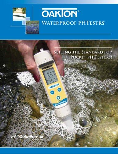 Waterproof pHTestrs®