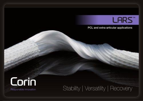 LARS™ - Corin - PDF Catalogs | Technical Documentation