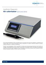 Vestibular Diagnostic Air calorisator (stand-alone device)