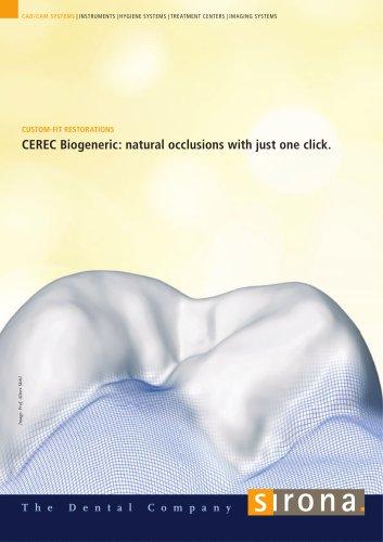CEREC Biogeneric
