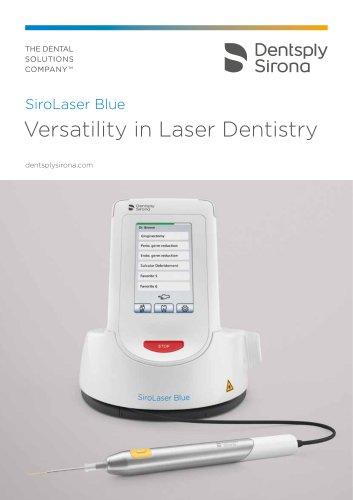 SiroLaser Blue Versatility in Laser Dentistry