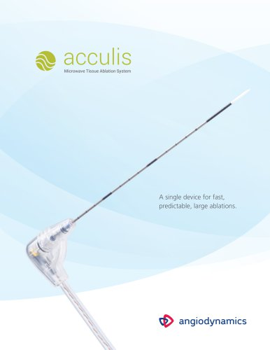 acculis Microwave Tissue Ablation System