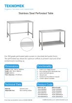 perforated table - 1