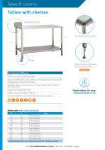 TABLES & LECTERNS - 2