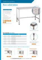 TABLES & LECTERNS - 4
