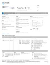 Archer LED Patient Room Wall Light - 1