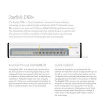 RaySafe DXR+ - 2