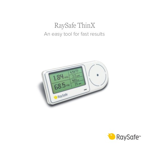 RaySafe ThinX