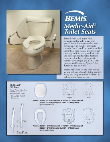 Medic–Aid® Toilet Seat Brochure