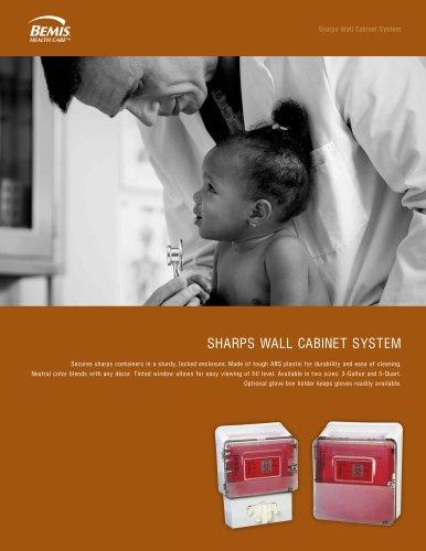 SHSARPS WALL CABINET SYSTEM