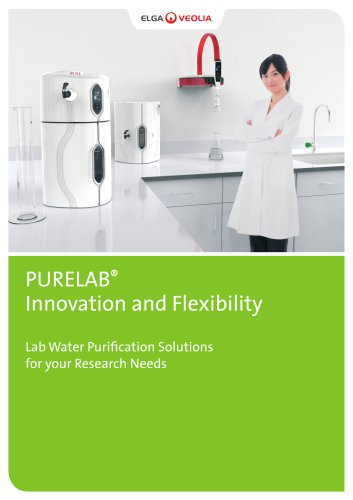 PURELAB® Innovation and Flexibility