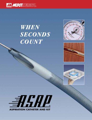 ASAP® Aspiration Catheter and Kit Brochure