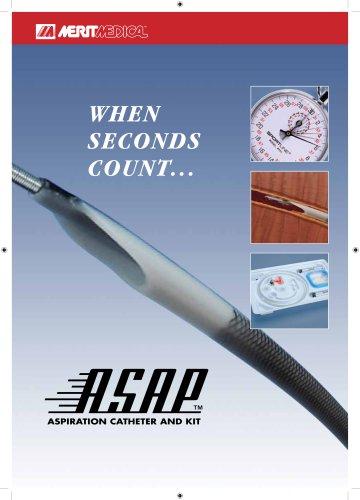 ASAP® Aspiration Catheter & Kit Brochure (Europe)